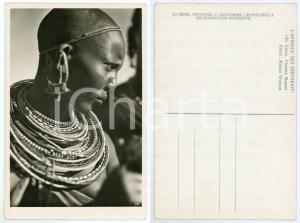 1930 ca C. ZAGOURSKI «L'Afrique qui disparaît» KENIA Femme MASSAI *Postcard 150