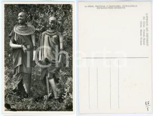 1930 ca C. ZAGOURSKI «L'Afrique qui disparaît» KENIA Femme MASSAI *Postcard 161