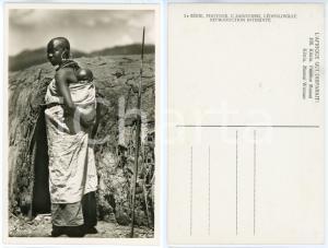 1930 ca C. ZAGOURSKI «L'Afrique qui disparaît» KENIA Femme MASSAI *Postcard 166
