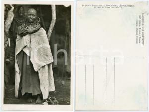1930 ca C. ZAGOURSKI «L'Afrique qui disparaît» KENIA Femme MASSAI *Postcard 162