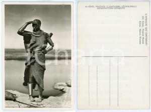 1930 ca C. ZAGOURSKI «L'Afrique qui disparaît» KENIA Femme MASSAI *Postcard 163
