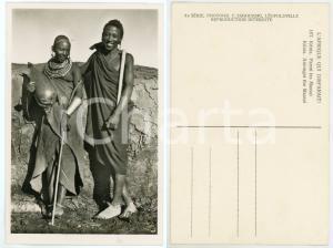 1930 C. ZAGOURSKI «L'Afrique qui disparaît» KENIA Parmi les MASSAI *Postcard 167