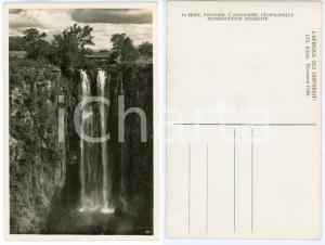 1930 C. ZAGOURSKI «L'Afrique qui disparaît» KENIA Thomson Falls *Postcard 173