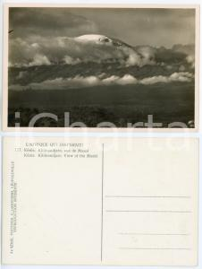 1930 C. ZAGOURSKI «L'Afrique qui disparaît» KENIA Kilimandjaro, vue de Moshi 177