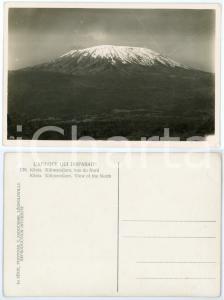 1930 C. ZAGOURSKI «L'Afrique qui disparaît» KENIA Kilimandjaro, vue dun Nord 176