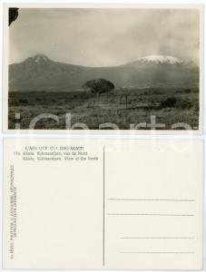 1930 C. ZAGOURSKI «L'Afrique qui disparaît» KENIA Kilimandjaro, vue du Nord *174