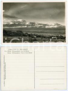 1930 C. ZAGOURSKI «L'Afrique qui disparaît» KENIA Kilimandjaro vue de Moshi *175
