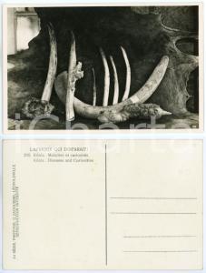 1930 C. ZAGOURSKI «L'Afrique qui disparaît» KENIA Maladies et curiosités *n.200