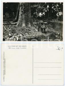 1930 C. ZAGOURSKI «L'Afrique qui disparaît» CONGO BELGE Facochère *Postcard 190