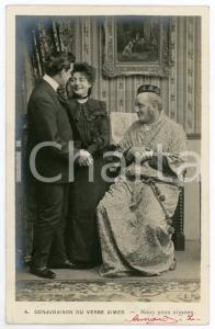 1903 CONJUGAISON DU VERB AIMER - Nous nous aimons - Couple *Vintage postcard n°4