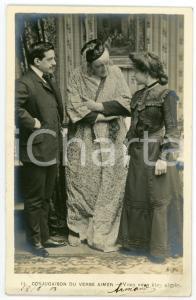 1903 CONJUGAISON DU VERB AIMER - Vous vous êtes aimés - Vintage postcard n°11