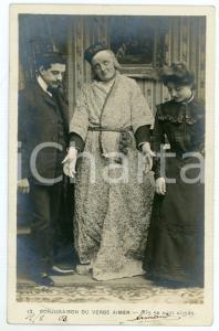 1903 CONJUGAISON DU VERB AIMER - Ils se sont aimés - Vintage postcard n°12