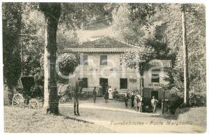 1909 TORREBELVICINO (VI) Fonte Margherita - Cartolina ANIMATA carrozza