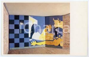 1984 BOGOTÀ MAMBO Exposicion Beatriz GONZALEZ Mural Fàbrica Socialista Postcard
