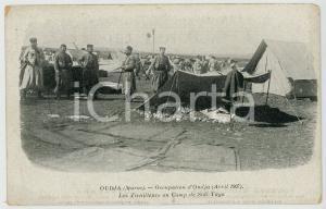 1910 ca OUDJA (MAROC) Occupation 1907 - Tirailleurs à SIDI-YAYA - Carte postale