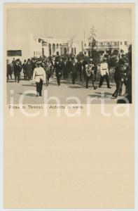 1920 ca Fiera Campionaria TRIPOLI (LIBIA) Autorità italiane in visita *Cartolina
