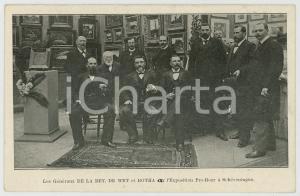 1900ca SCHEVENINGEN Koos DE LA REY Christiaan DE WET Louis BOTHA Carte postale