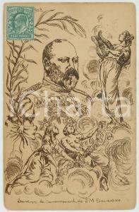 1902 UK Artist H. GRUNFELDER - Couronnement de S. M. Edouard VII - Postcard