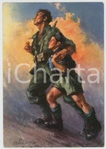 1940 PNF Gioventù Italiana del Littorio Illustrazione Clemente TAFURI Cartolina