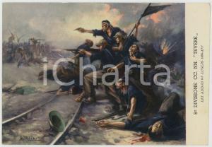 1936 LES ADDAS 6^ Divisione CC. NN. Tevere - Ill. di Clemente TAFURI Cartolina