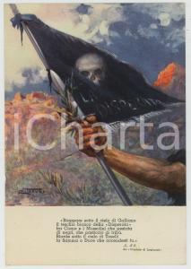 1936 WW2 - ETIOPIA - AOI La Disperata - Illustrazione Clemente TAFURI Cartolina