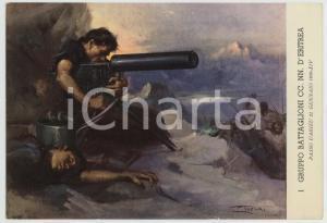 1936 PASSO UARIEU 1° Gruppo Battaglion CC. NN. d'Eritrea - Ill. Clemente TAFURI