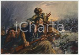1936 SCIRE' 3^ Divisione CC. NN. 21 Aprile - Ill. di Clemente TAFURI Cartolina