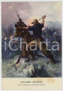 1936 DAUA PARMA Colonna Agostini - Illustrazione di Clemente TAFURI Cartolina FG