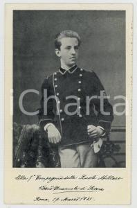 1961 MODENA Scuola Militare - Vittorio Emanuele di Savoia - Cartolina