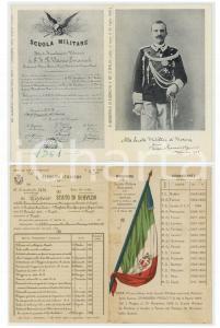 1961 Scuola Militare MODENA - Biglietto stampa anastatica - REGIO ESERCITO