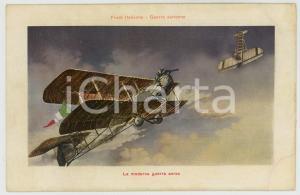 1915 ca WW1 ITALIA Front Italienne - La moderna guerra aerea - Cartolina