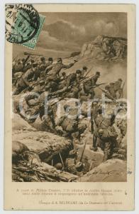 1919 WW1 Achille BELTRAME - Truppe italiane al Monte Coston - Cartolina