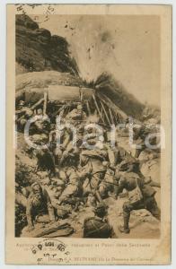 1919 WW1 Achille BELTRAME - Appostamento al Passo della Sentinella *Cartolina