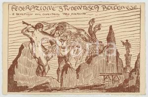 1917 WW1 BOLOGNA Federazione Studentesca - Comitato