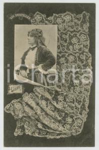 1902 LES DENTELLES Luxeuil lace - Dentellière - French postcard