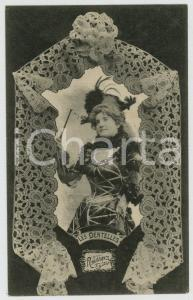 1902 LES DENTELLES Renaissance lace - Dentellière - French postcard