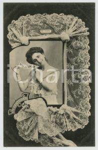 1902 LES DENTELLES Point d'Alençon - Dentellière - Lace - French postcard