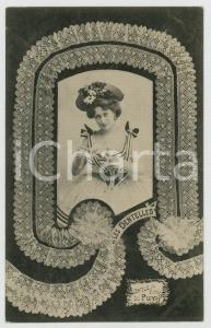 1902 LES DENTELLES - Dentelle au Fuseau du Puy - Lace - French postcard