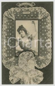 1902 LES DENTELLES - Valencienne lace - Dentellière - French postcard