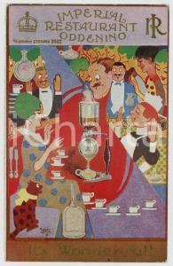 1920 ca LONDON Imperial Restaurant - ODDENINO - It's wonderful! *Postcard