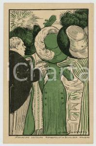 1910 ca ANVERS Imprimeurs RONNEFELDT & DEVOLDER ^Postcard ill. John JANSSENS