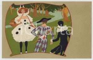 1910 ca BELGIQUE The Ellanbee PIERROT series n° 114 - Carte postale CPA