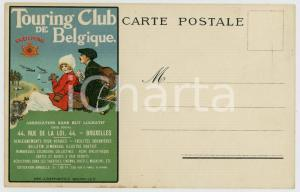 1915 ca TOURING CLUB DE BELGIQUE - Carte postale illustrée