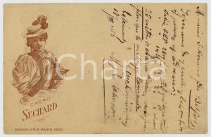 1903 CACAO SUCHARD Grand Prix Paris 1900 - ILLUSTRATED Postcard