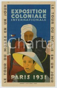 1931 PARIS Exposition Coloniale - Le tour du monde en un jour *ill. DESMEURES
