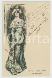 1904 FRANCE Sarah Bernhardt dans