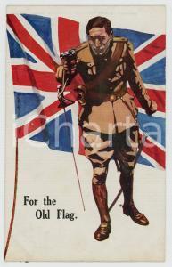 1915 ca WW1 BRITISH PROPAGANDA - For the old flag - Postcard