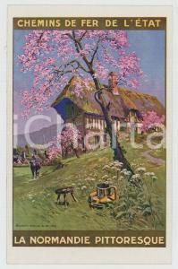 1910ca CHEMIN DE FER DE L'ÉTAT La Normandie pittoresque - Carte postale FP NV