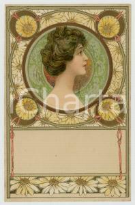 1901 ART NOUVEAU Artist KOSA - Lady - Portrait - Postcard