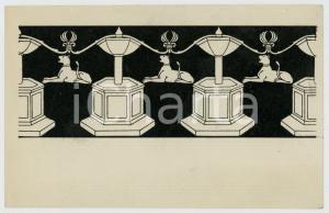 1920 ca SIENA Dettaglio del pavimento della cattedrale - Cartolina